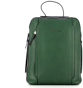 Piquadro Mens Green Backpack
