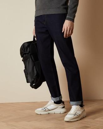 Ted Baker Straight Cotton Dark Wash Jeans