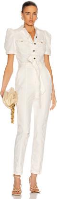 retrofete Tori Jumpsuit in Vintage White | FWRD