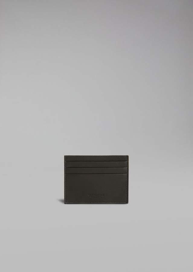 Giorgio Armani Leather Cardholder