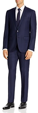 BOSS Huge/Genius Tonal Windowpane Slim Fit Suit