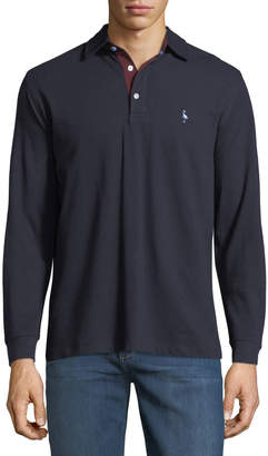 Tailorbyrd Long-Sleeve Polo Shirt