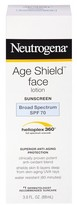 Neutrogena Age Shield® Face Lotion Sunscreen Broad Spectrum - SPF 70 - 3 Fl Oz