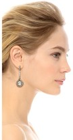 Oscar de la Renta Jeweled Drop Earring