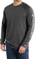 Carhartt Force Delmont T-Shirt - Long Sleeve (For Big and Tall Men)