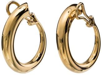 Charlotte Chesnais Yellow Gold Monie Large Clip Earrings