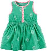 Carter's Sleeveless Printed Dress - Baby Girls newborn-24m