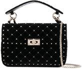 Valentino Garavani Valentino Rockstud Spike crossbody bag - women - Velvet - One Size