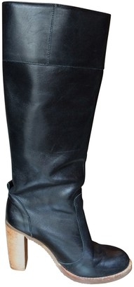 Pare Gabia Black Leather Boots