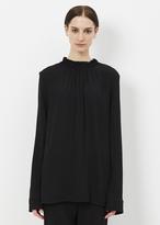 Marni black long sleeve blouse