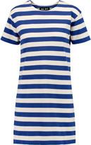 Nlst Striped cotton-jersey mini dress