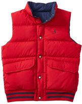 Ralph Lauren Boys 8-20 Elmwood Reversible Vest