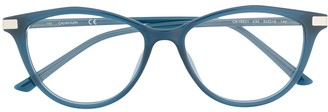 Calvin Klein Cat-Eye Frame Glasses