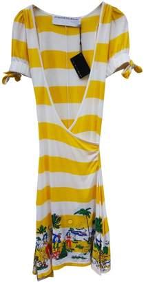 JC de CASTELBAJAC Yellow Cotton Dress for Women