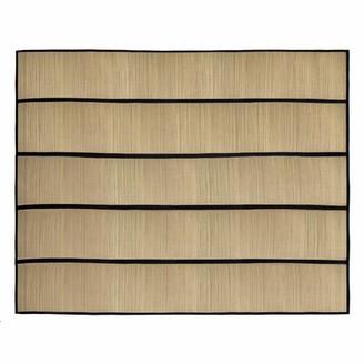 """Bay Isle HomeTM Robards Handmade Flatweave Beige/Black Rug Bay Isle Home Rug Size: Rectangle 4'11"""" x 6'7"""""""
