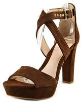 Vince Camuto Shayla Women US 10 Brown Platform Heel