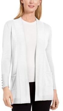 JM Collection Open-Front Cardigan, Created for Macy's