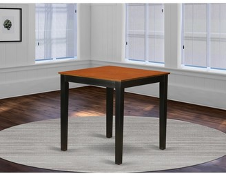 East West Furniture 36-inch Square Counter Height Pub Table