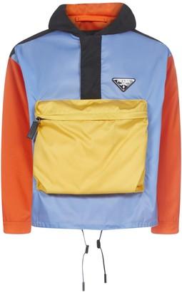 Prada Anorak Gabardine Nylon Jacket