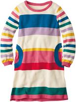 Hanna Andersson Rainbow Stripe Schoolhaus Sweater Dress