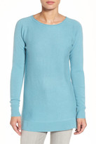Halogen High/Low Wool & Cashmere Tunic Sweater (Regular & Petite)