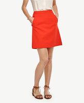 Ann Taylor Compact Twill Skirt