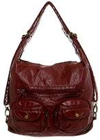 Ampere Creations Convertible Purse - Both Backpack and Shoulder Bag in Soft Vegan Leather