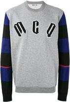 McQ by Alexander McQueen logo sweatshirt - men - Cotton/Polyamide/Polyester/Wool - S