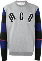 McQ by Alexander McQueen logo sweatshirt - men - Cotton/Polyester/Wool/Polyamide - M