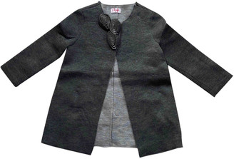 Il Gufo Grey Synthetic Jackets & Coats