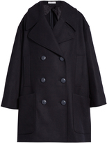 J.W.Anderson Double-breasted oversized wool-blend pea coat
