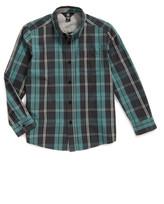 Volcom Bullock Plaid Woven Shirt (Toddler & Little Boys)