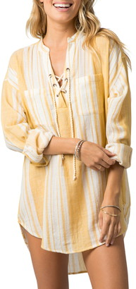 Rip Curl Seaside Stripe Tunic Shirt