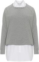 Junarose Plus Size 2 Piece sweatshirt blouse set