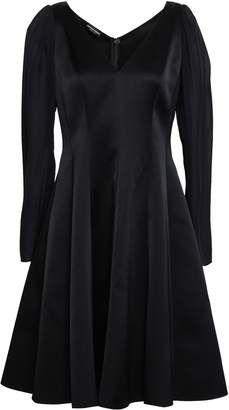 Emporio Armani Flared Satin Dress