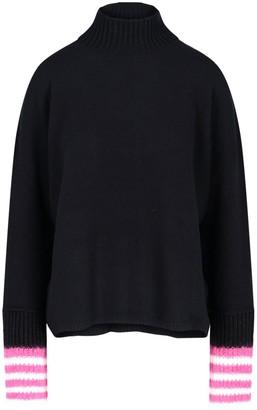 Marni Stripe Detailed High-Neck Sweater