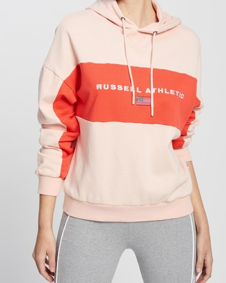 Russell Athletic USA Colour-Blocked Hoodie