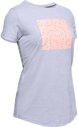 Under Armour Girls' UA Print Fill Graphic T-Shirt