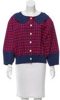 Chanel Patterned Knit Jacket