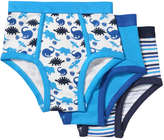 Joe Fresh Toddler Boys' 3 Pack Assorted Briefs, Print 1 (Size 3)