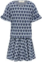 M&Co Love heart print top and skirt set