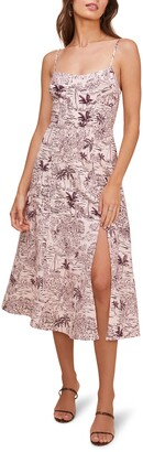 ASTR the Label Keilani Sleeveless Midi Dress