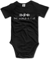 WSPN The World Is Flat Subaru St Platinum Style Baby Sleeveless Romper Jumpsuit
