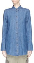 Equipment 'Arlette' extended cuff chambray shirt