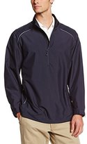 Cutter & Buck Men's Big-Tall Cb Weathertec Beacon Half Zip Jacket