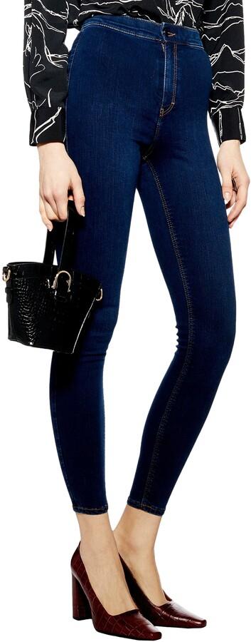 Topshop Joni High Waist Moto Jeans