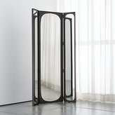 Crate & Barrel Devon Floor Mirror