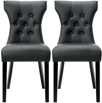 Modway Silhouette Dining Chairs Set