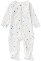 Petit Lem Baby Boys Newborn-3 Months Shapes Printed Footed Coverall