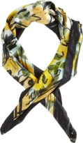 Lanvin Sheer Floral Print Scarf Sale up to 60% off at Barneyswarehouse.com